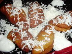 Mini langosi cu branza  sau gem de prune