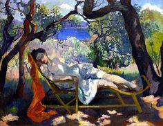 The Nap, 1905, by Henri Charles Manguin (French, 1874–1949)