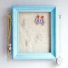 Photo Frame Jewelry Hanger