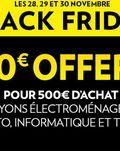 Catalogue Conforama Black Friday du vendredi 28 novembre 2014 au dimanche 30 novembre 2014 ( 28/11/2014 - 30/11/2014 )