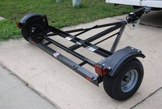 Two Wheel tow Dolly Trailer Build, Car Trailer, Utility Trailer, Trailers, Trailer Dolly, Free Trailer, Three Wheel Bicycle, Trailer Wiring Diagram, Jeep Bumpers