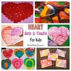 Fun Heart Arts & Crafts Ideas for Kids