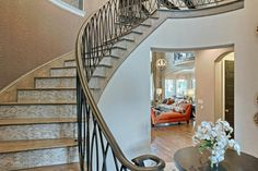 Stairs Grand Homes, Model Homes, Foyer, Scale, New Homes, Decorating Ideas, Stairs, Spring, House