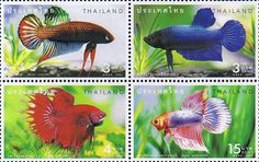 Thai stamp - fish