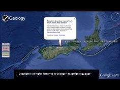"Plate Tectonics & Plate Boundaries Map "" Video """