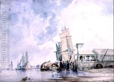 On the Thames by George Chambers
