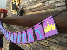 Disney Descendants Package Birthday Banner by PersonalizedPartyDec