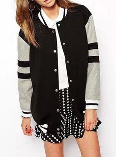 Womens Bomber Jacket - Senior Varsity All the Way