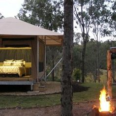 Nice to see a local Scenic Rim luxury tent retreat on pin interest! Go Ketchup's Bank!