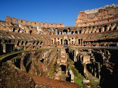 The Colosseum or Coliseum, also known as the Flavian Amphitheatre is an elliptical amphitheatre in the centre of the city of Rome, Italy. Description from travelbieber.com. I searched for this on bing.com/images