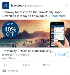 Twitter Ad Examples Hotel Deals, Read More, Promotion, Ads, Twitter