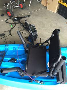 Raised seat kayak DIY