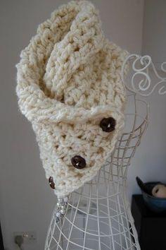 free crochet neck warmer patterns | Lattice Crochet Neck Warmer. Free pattern. / crochet ideas and tips ...