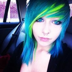 Perfect length and everything!!! Y did the piercings and color have to ruin it!!