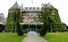 The Empress Hotel on Victoria Island, Canada