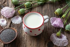 Domáce makové mlieko | Recepty.sk Moscow Mule Mugs, Tableware, Dinnerware, Tablewares, Dishes, Place Settings