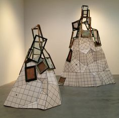 A cubist rendition of a bathroom? Made from buildings torn down in China. Doing Nothing by Song Dong at Pace Gallery Installation Art, Wearable Art, New Art, Sculpture Art, Fashion Art, Bliss, Minimalism, Contemporary Art, Chelsea