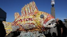 Sea Change: Recycling Ocean Trash Into Influential Art | Recycling content from Waste360