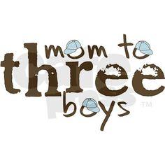 LOVE my 3 boys!