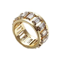 Nicole Meng Encircled CZ Ring(Gold)