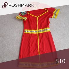Fireman Halloween costume Sexy fireman costume. Size S/M Dresses Mini