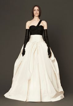 Manon   Wedding Dresses, Bridal Gowns by Vera Wang   Spring 2014 . . . modern meets classic. i kinda love it, but don't see myself wearing this style.