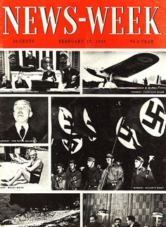 In 1933, the first Newsweek cover was born. | 80 Years Of Newsweek Covers That Explained The World