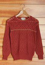 Vintage Snuggly Studying Sweater   Mod Retro Vintage Vintage Clothes   ModCloth.com