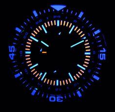 DAYNIGHT - T100 TRITIUM SWISS VALJOUX 7754 GMT AUTO CHRONOGRAPH