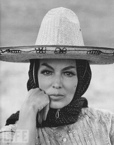 Maria Felix, the late Mexican actress.  Learn more about Mexico, its business, culture and food by joining ANZMEX anzmex.org.au