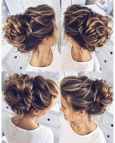Hairstyles messy shoulder length 23 Best Ideas #hairstyles Wedding Hairstyles For Long Hair, Wedding Hair And Makeup, Bride Hairstyles, Pretty Hairstyles, Bridal Hair, Hair Makeup, Hair Wedding, Hairstyle Ideas, Layered Hairstyles