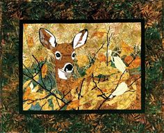Quilt Inspiration: The Great Outdoors: Mountain Wildlife and Fish Quilts