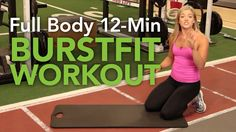 Full Body 12 Minute BurstFit Workout with Dr. Chelsea Axe