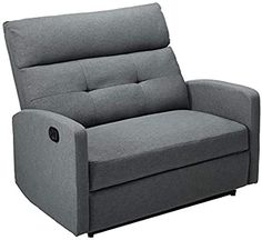 Shop a great selection of Christopher Knight Home Hana Recliner, Fabric/Charcoal. Find new offer and Similar products for Christopher Knight Home Hana Recliner, Fabric/Charcoal. Loveseat Recliners, Modern Recliner, Power Recliners, Sectional Sofa, Charcoal Living Rooms, Furniture Decor, Living Room Furniture, Hana, Oversized Chair