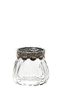 Vintage Feminine Tea Light Holder - So pretty! Home Online Shopping, Home Decor Online, Mr Price Home, Tea Light Holder, Tea Lights, Home Furniture, Home Accessories, Wedding Decorations, Feminine