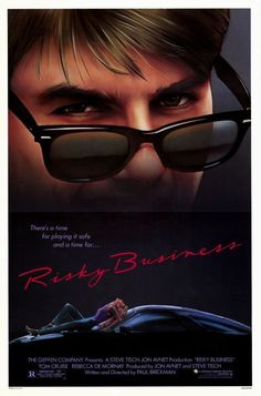 Risky Business 11x17 Movie Poster (1983)