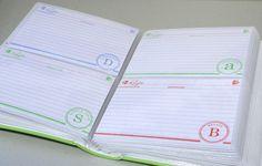 recipe album smart with index cards stamped Homemade Cookbook, Photo Album Book, Book Shower, Book Binder, Recipe Binders, Menu Planners, Create A Recipe, Weekly Meal Planner, Notebook Paper