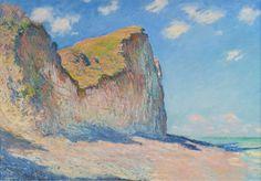 Claude Monet | Falaises près de Pourville | 1882