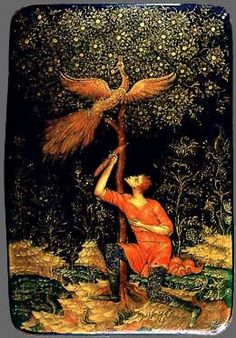 Firebird - an important motif in Russian art and in many fairy tales