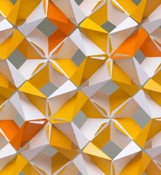 Screen by d3 of interlocking aluminum tiles. Great for an architectural feature wall/partition.