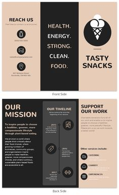 Get more customers to your food business with the simple Restaurant Tri Fold Brochure Template. Design the template with food images, icons, and photos for a yummy flare. Search for more easy to customize tri fold brochure templates on Venngage. Brochure Indesign, Brochure Food, Brochure Examples, Travel Brochure Template, Brochure Layout, Business Brochure, Product Brochure, Corporate Brochure, Pamphlet Design