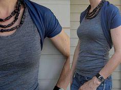 "bubala: Instant sewing gratification: ""The Perfect Shrug"""