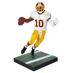 Show you're a real Redskins fan with the Robert Griffin III NFL Series 32 Action Figure.