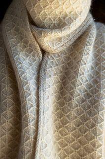 Purl Soho's Trellis Scarf - Simple, classic and elegant - a devastating combination!