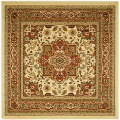 Safavieh Lyndhurst Red/Black 5 ft. 3 in. x 5 ft. 3 in. Round Area Rug LNH330B-5R at The Home Depot - Mobile