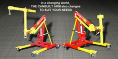 Cranes | Sayco/Canbuilt Mfg.