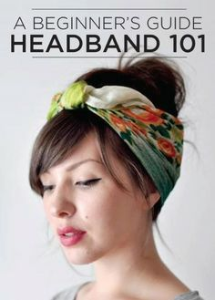 A wonderful beginners guide to styling a favorite spring trend – headbands!