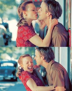so adorable. My favorite movie of all time! Love a laughing cute relationship!