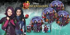 Disney Descendants Party Supplies - Descendants Birthday - Party City