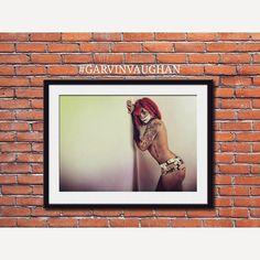 Behind the mask, limited prints only. Www.garvinvaughan.co.uk #garvinvaughan #art #photography #photoart #artphotography #photoshop #lightroom  #photooftheday #artforsale #interiordesign #home #decor #modernart #potd #tattoo #potography #tattoos #inked #artblogger #blogger #clown #redhair #mood